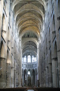 [Photo Cathedral Nave - Rouen]